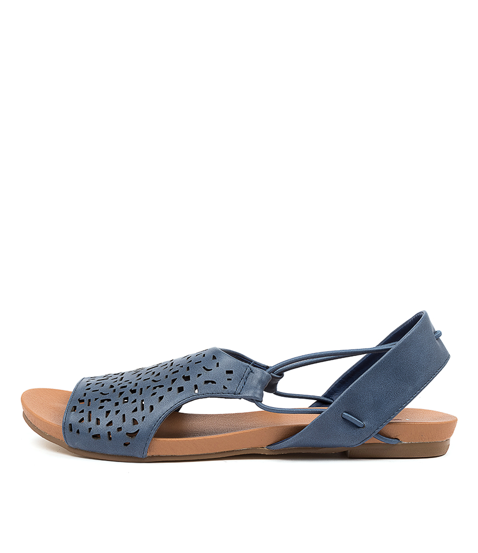 Buy I Love Billy Jyll Il Denim Flat Sandals online with free shipping