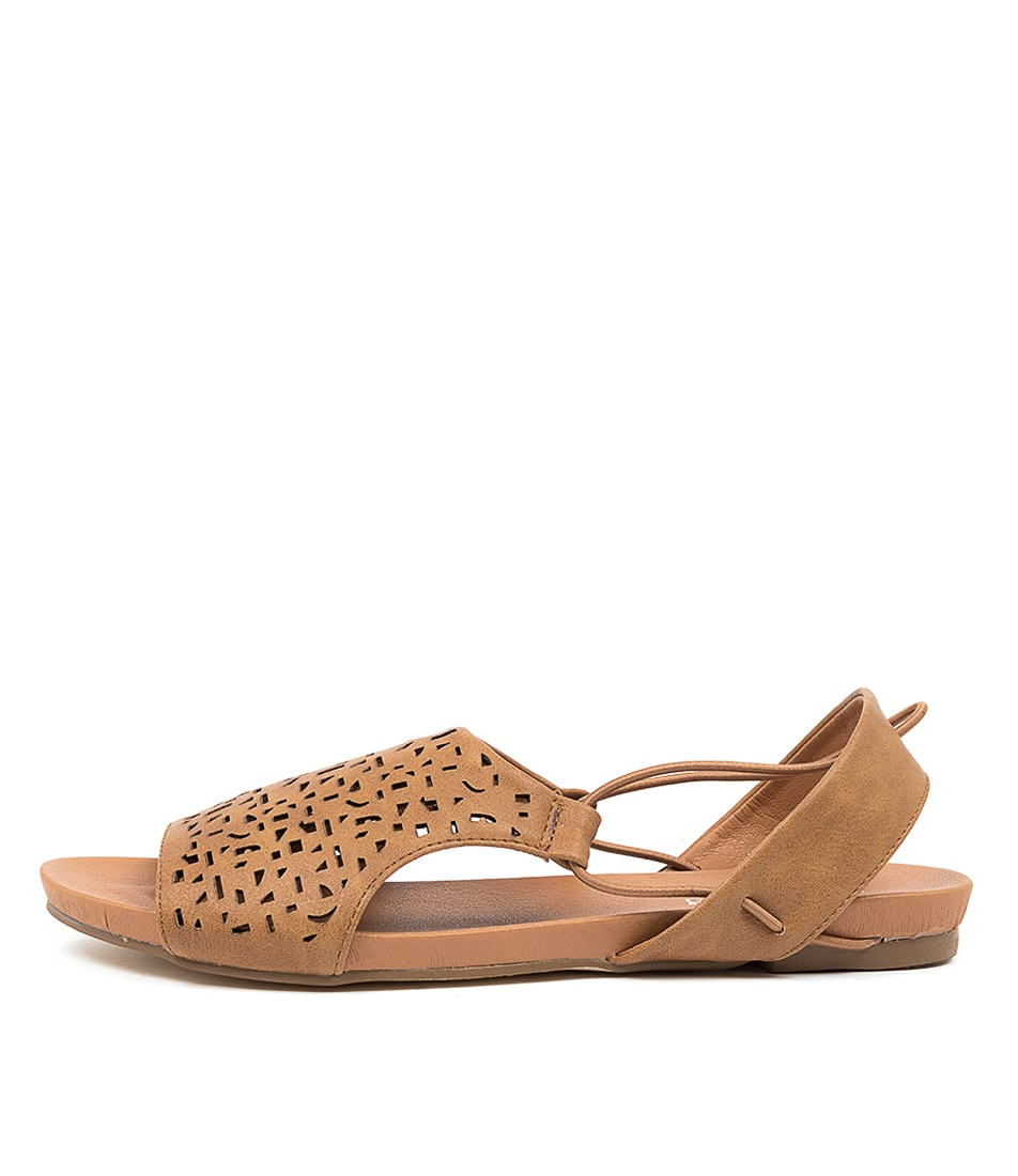 Buy I Love Billy Jyll Il Lt Tan Flat Sandals online with free shipping