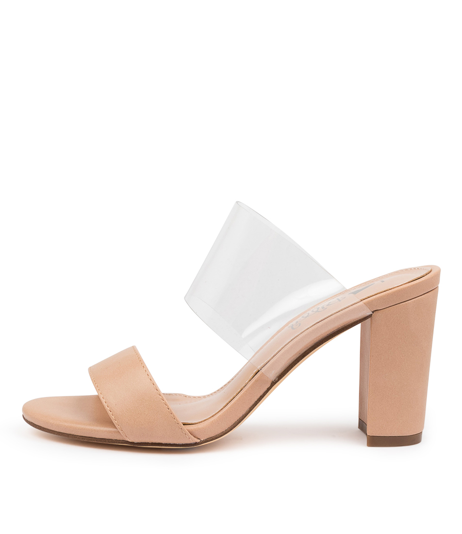 Buy I Love Billy Luella Il Nude Clear Heeled Sandals online with free shipping
