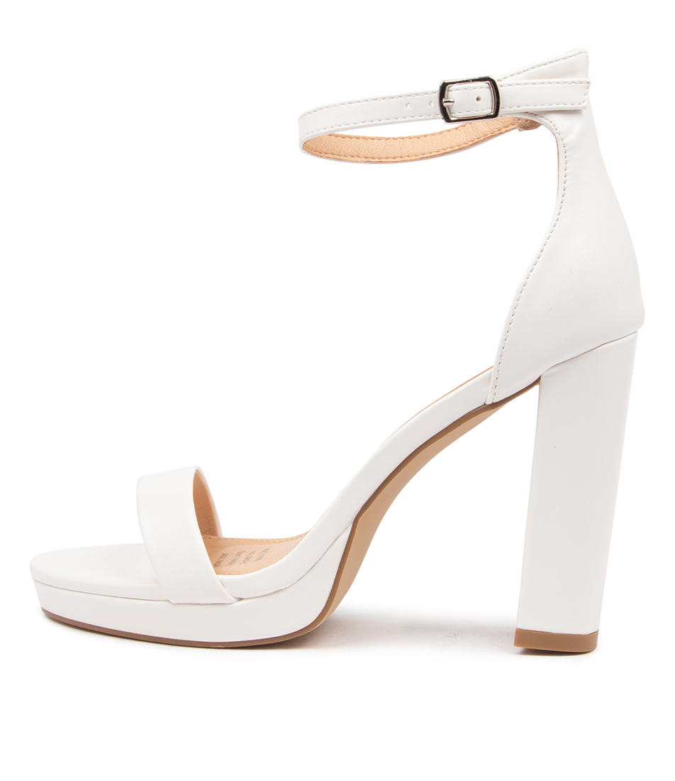 Buy I Love Billy Maci Il White Heeled Sandals online with free shipping