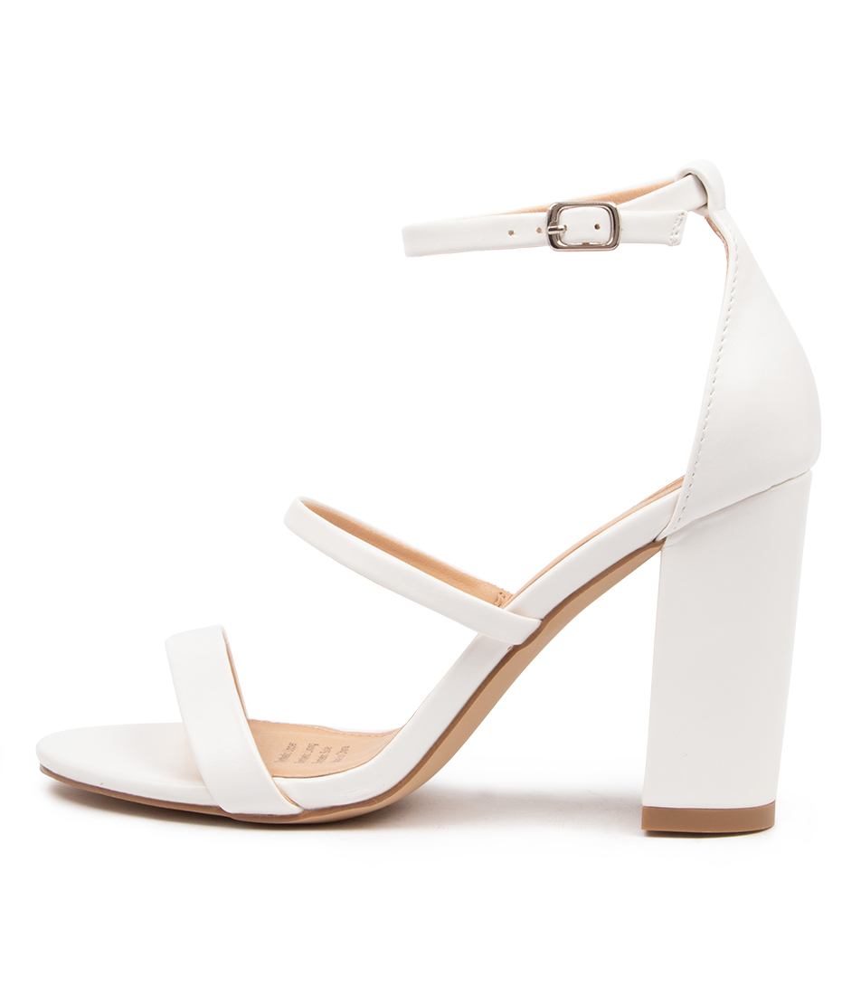 Buy I Love Billy Nina Il White Heeled Sandals online with free shipping