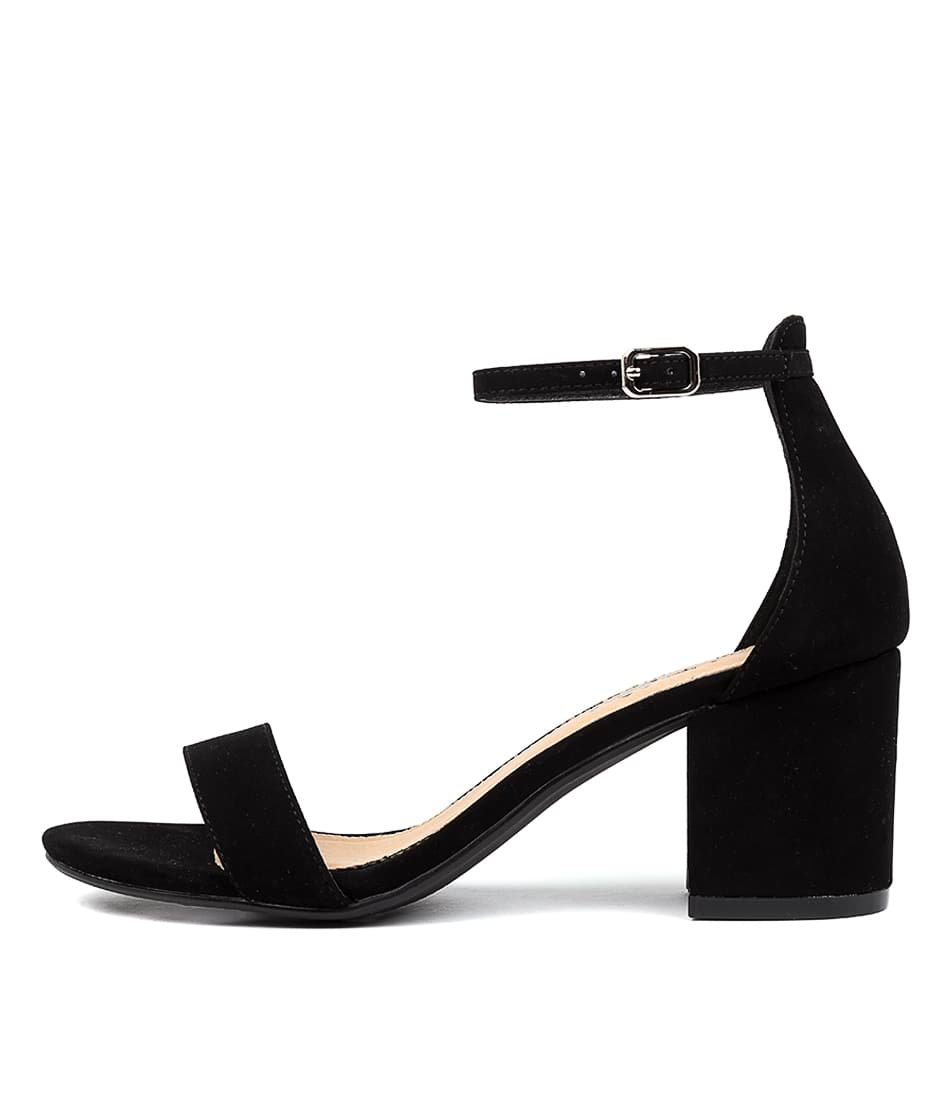 Buy I Love Billy Jordi Il Black Heeled Sandals online with free shipping