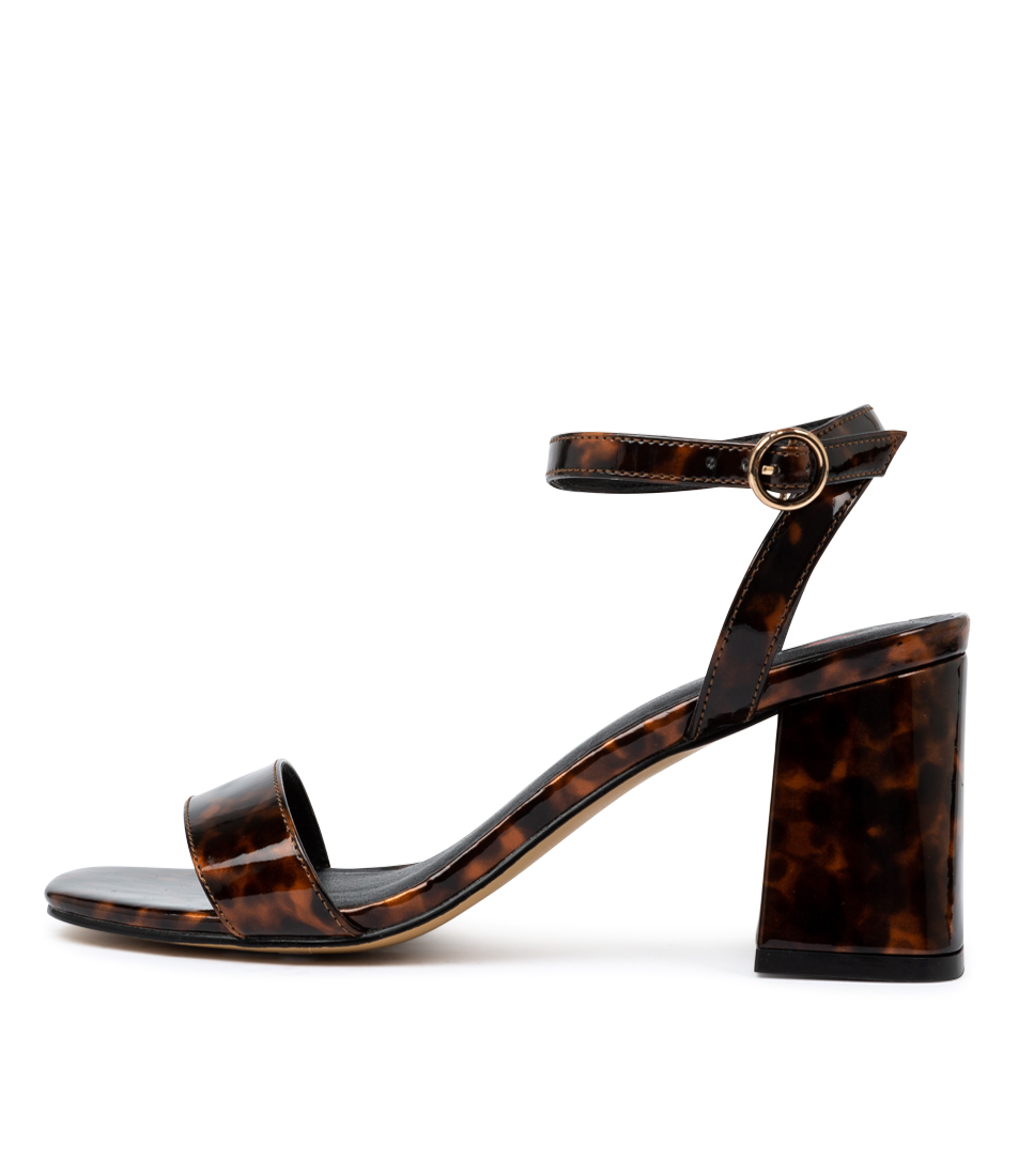 Buy I Love Billy Ezra Il Tortoise Heeled Sandals online with free shipping
