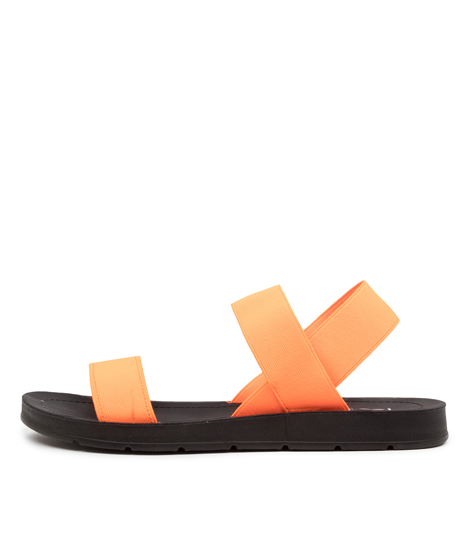 Buy I Love Billy Margie Il Orange Fluro Sandals online with free shipping