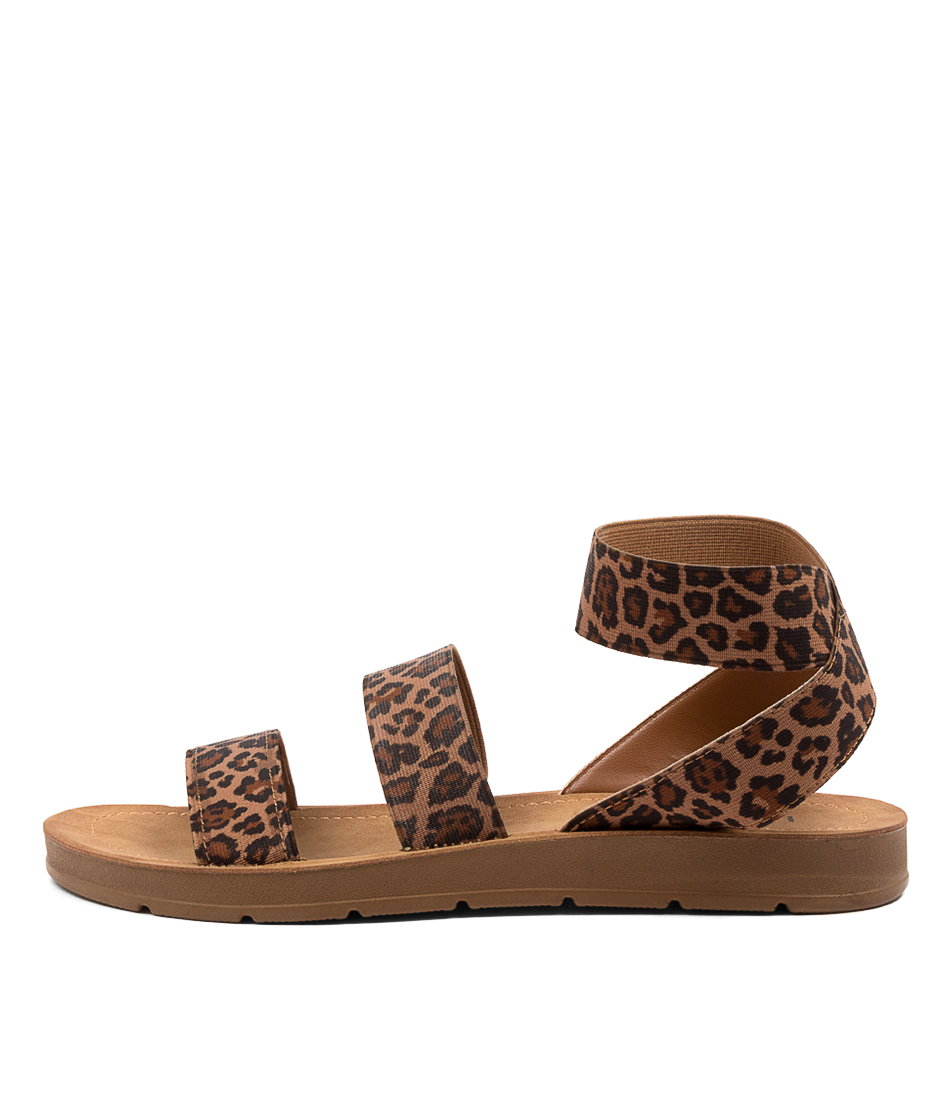 Buy I Love Billy Marilyn Il Leopard Flat Sandals online with free shipping
