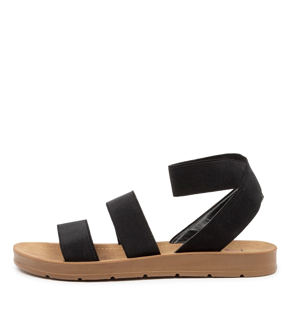 Buy I Love Billy Marilyn Il Black Sandals online with free shipping