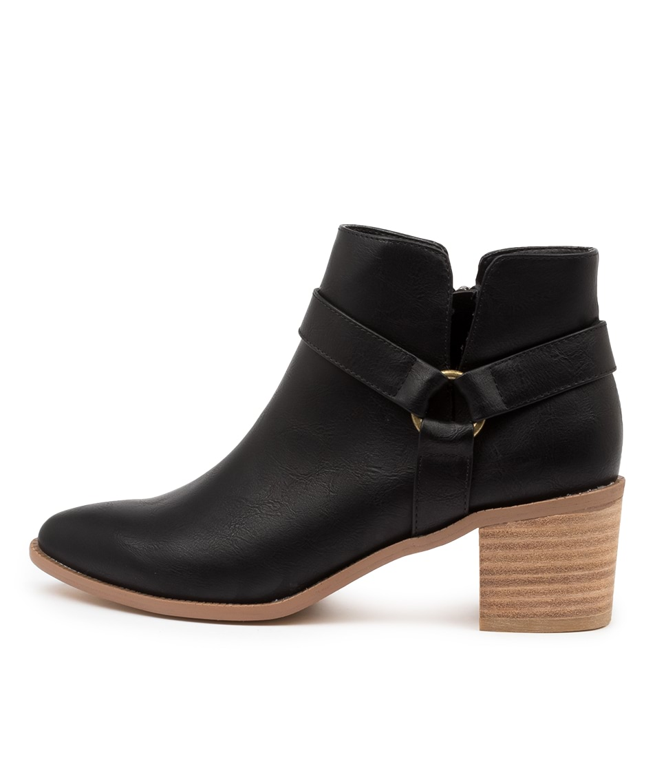 Buy I Love Billy Hayley Il Black Ankle Boots online with free shipping
