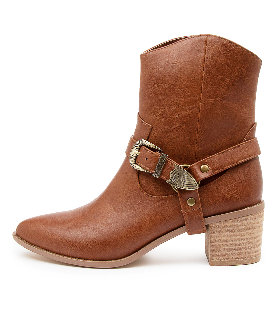 Buy I Love Billy Huri Il Whisky Calf Boots online with free shipping