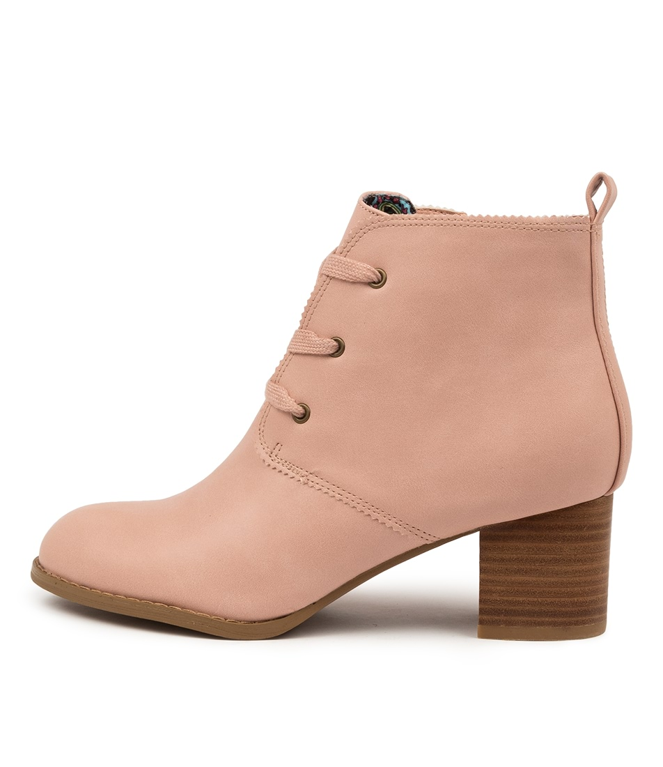 Buy I Love Billy Jovie Il Blush Ankle Boots online with free shipping