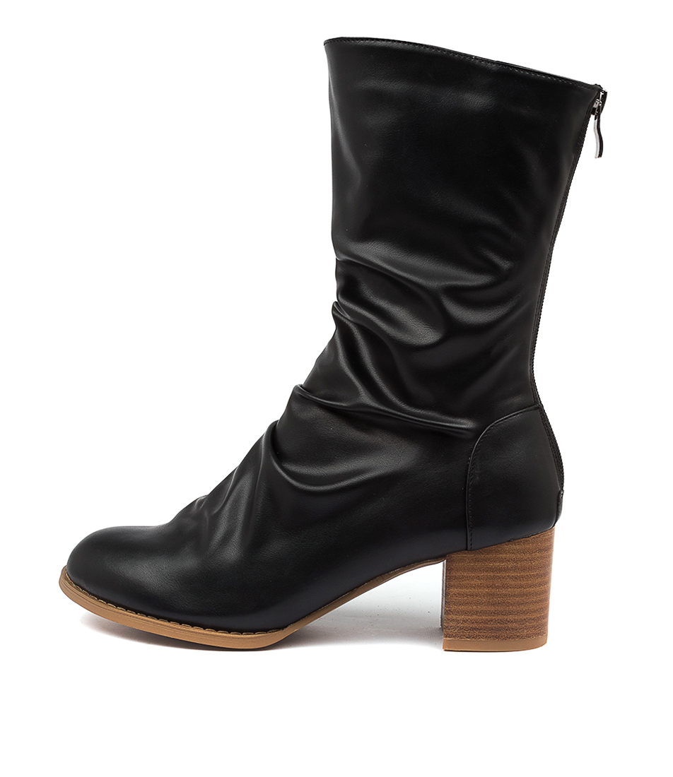 Buy I Love Billy Joan Il Black Calf Boots online with free shipping