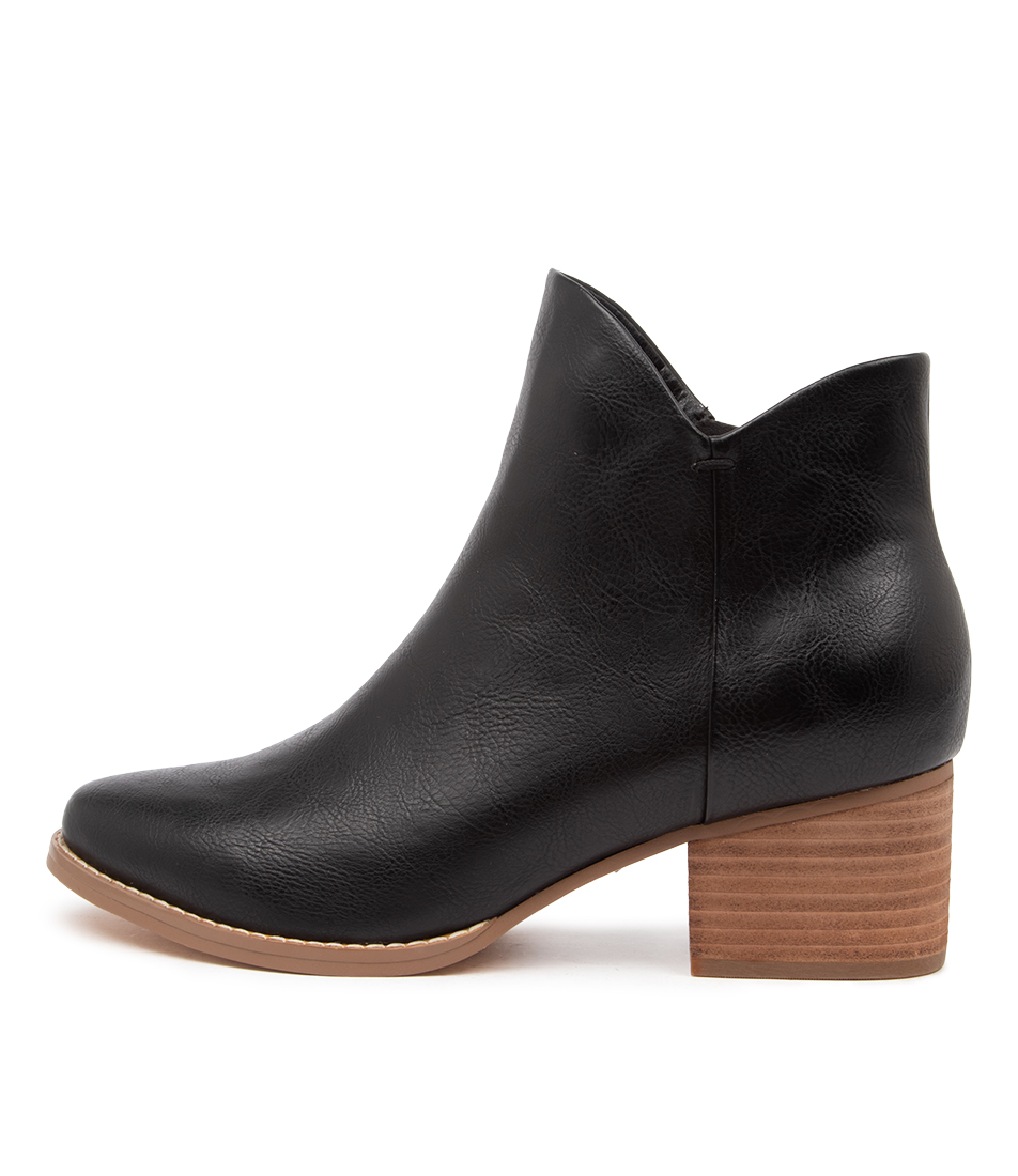 Buy I Love Billy Lexa Il Jet Black Ankle Boots online with free shipping