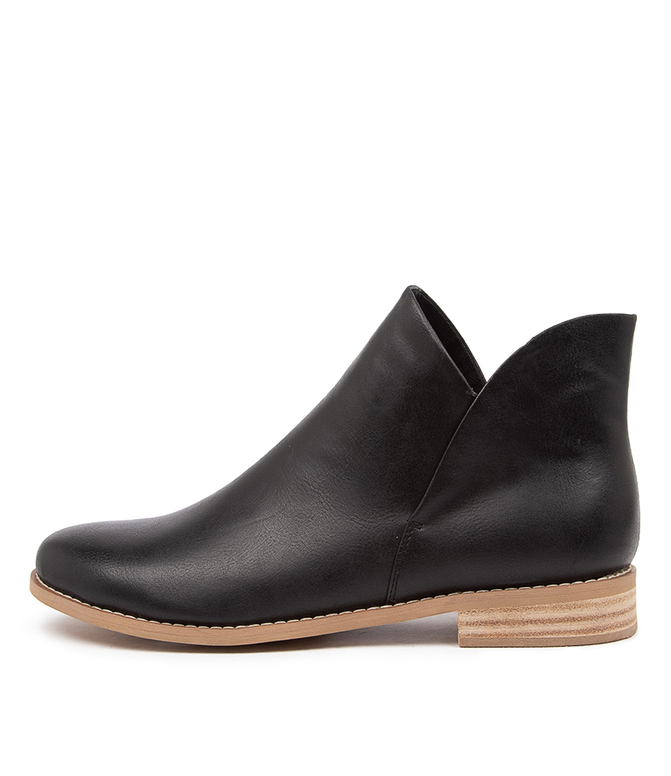 Buy I Love Billy Qupid Il Jet Black Ankle Boots online with free shipping
