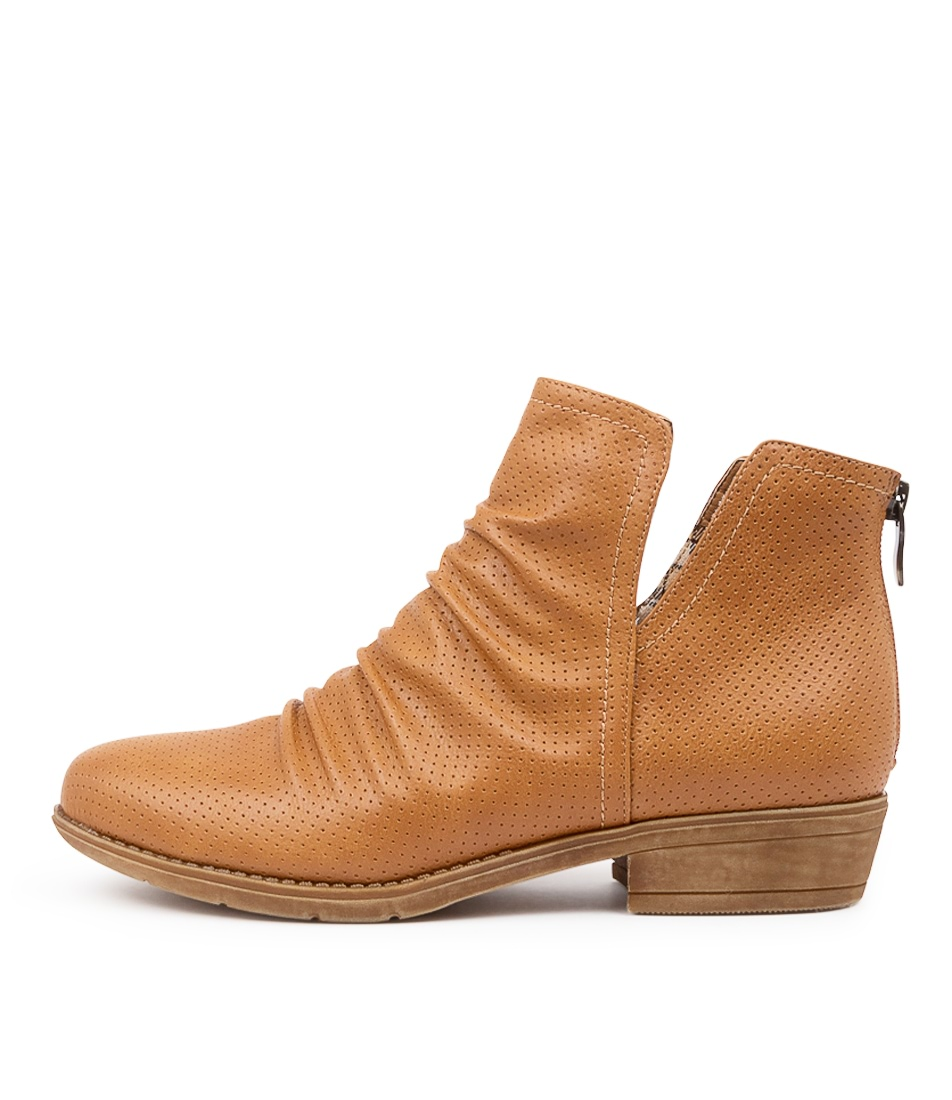 Buy I Love Billy Ridley Il Rich Tan Ankle Boots online with free shipping