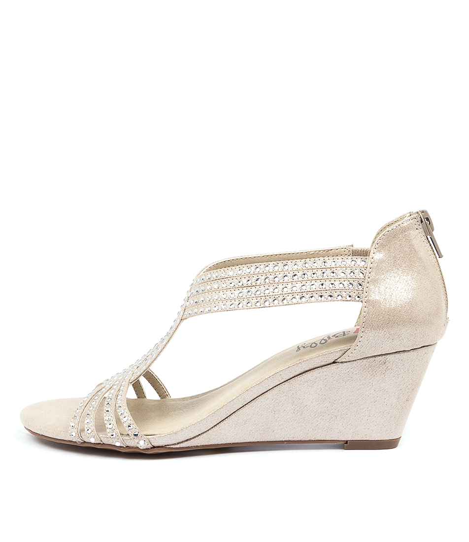 Buy I Love Billy Amethyst Il Pewter Heeled Sandals online with free shipping