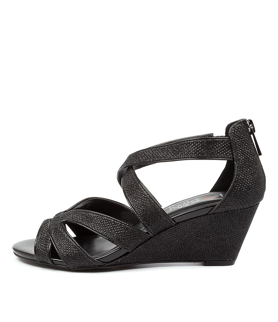 Buy I Love Billy Alannie Il Black Heeled Sandals online with free shipping