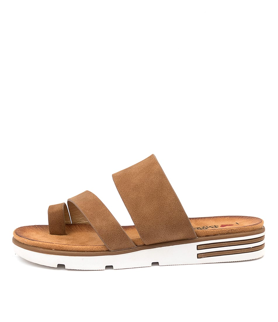 Buy I Love Billy Baylen Il Tan Flat Sandals online with free shipping