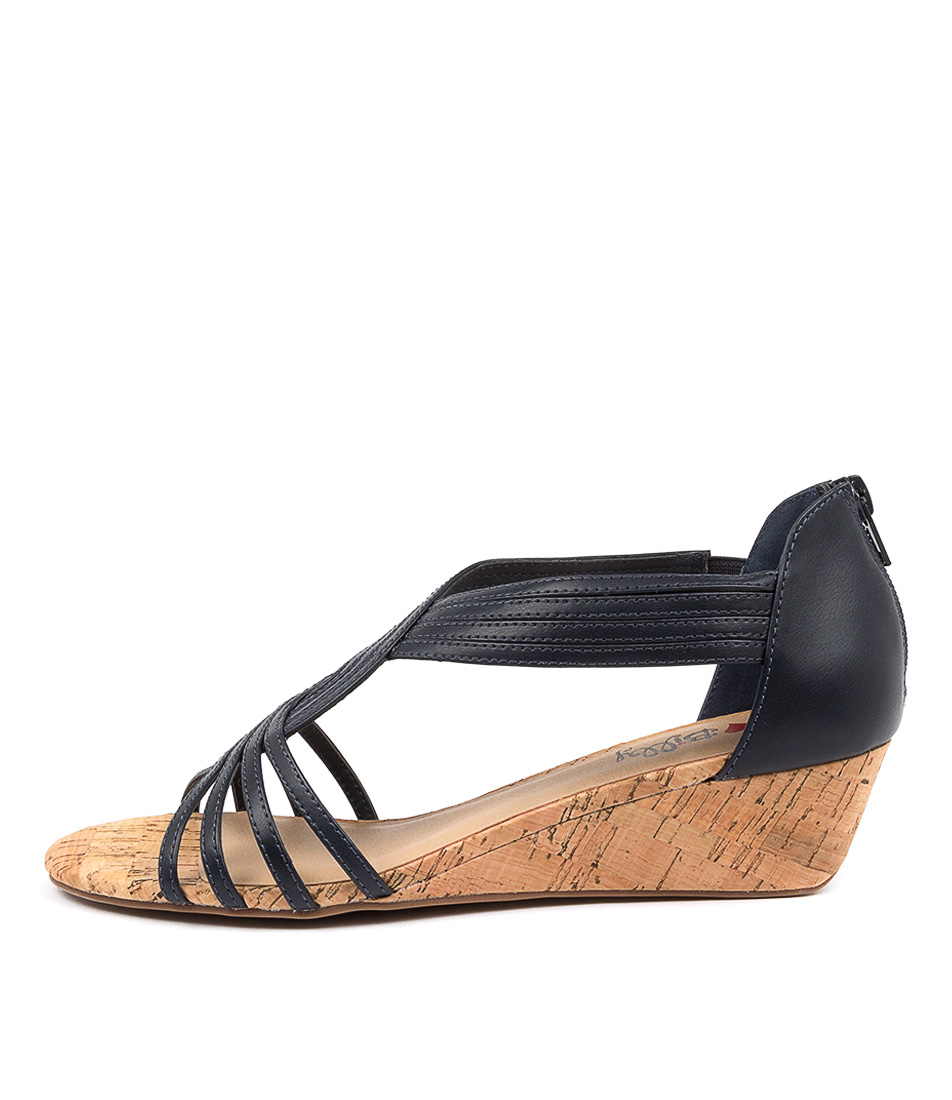 Buy I Love Billy Boise Il Navy Heeled Sandals online with free shipping