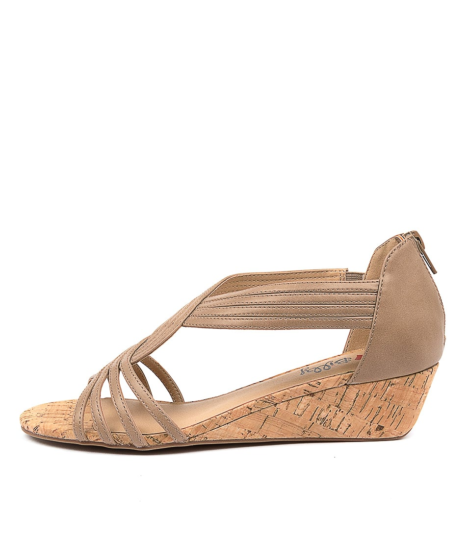 Buy I Love Billy Boise Il Taupe Heeled Sandals online with free shipping
