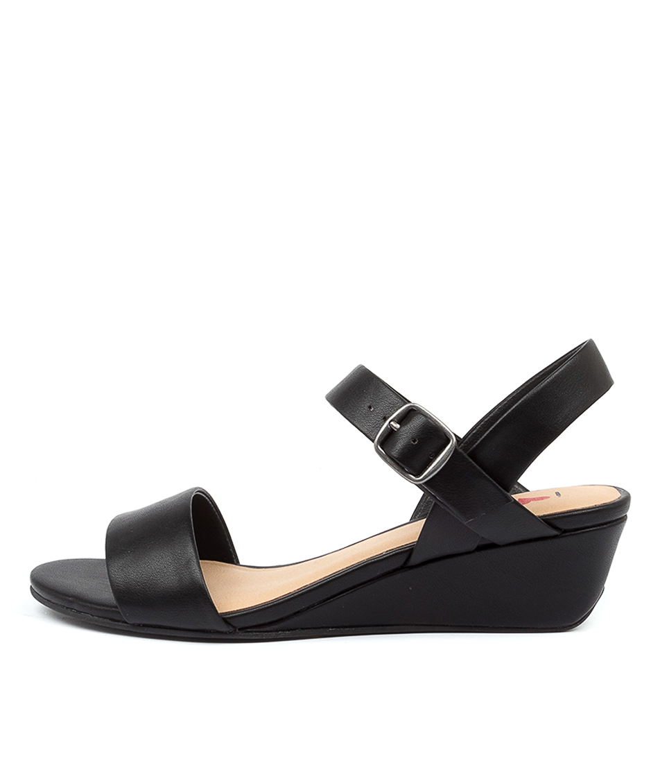 Buy I Love Billy Bader Il Black Heeled Sandals online with free shipping