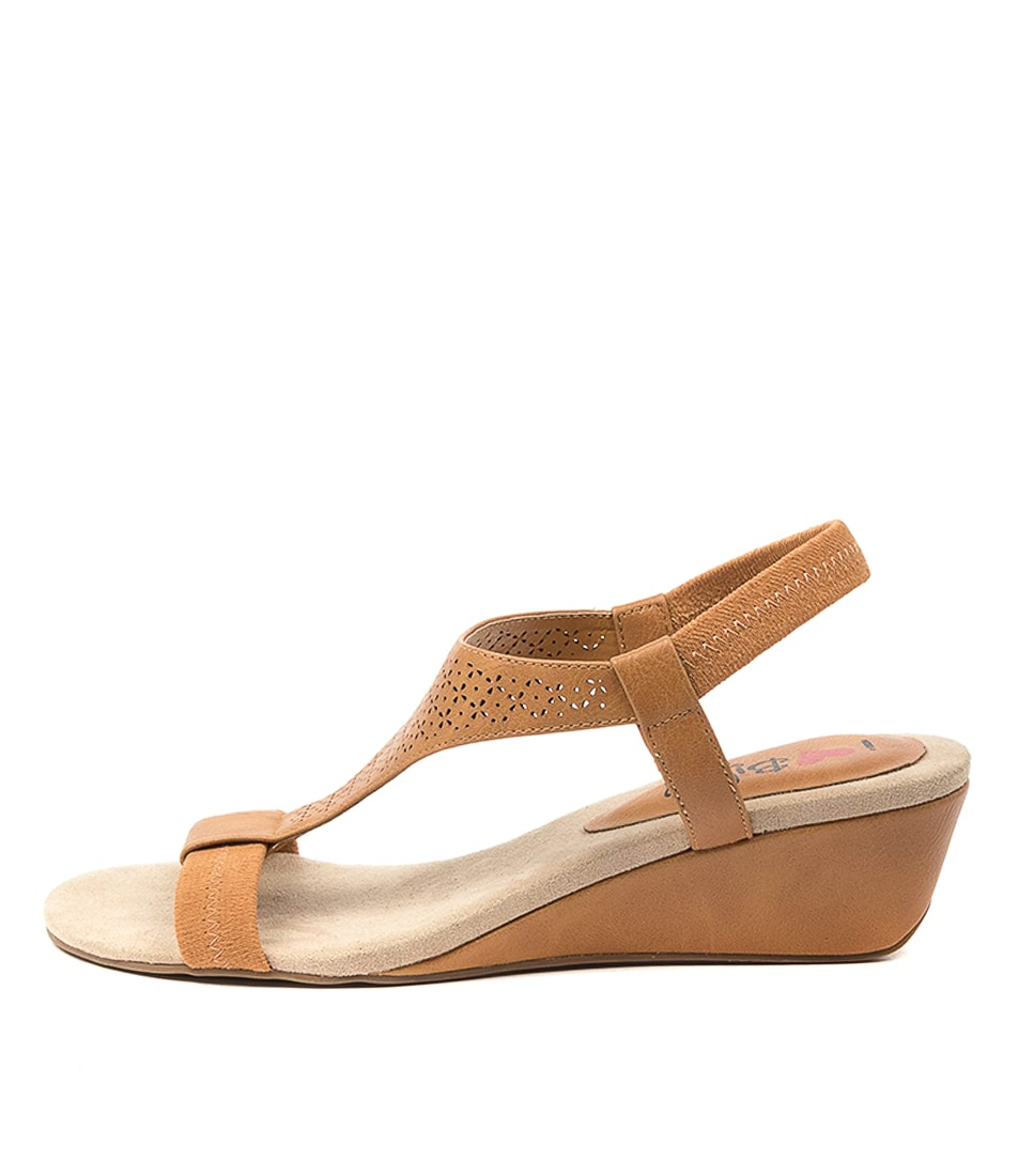 Buy I Love Billy Brimmer Il Tan Heeled Sandals online with free shipping