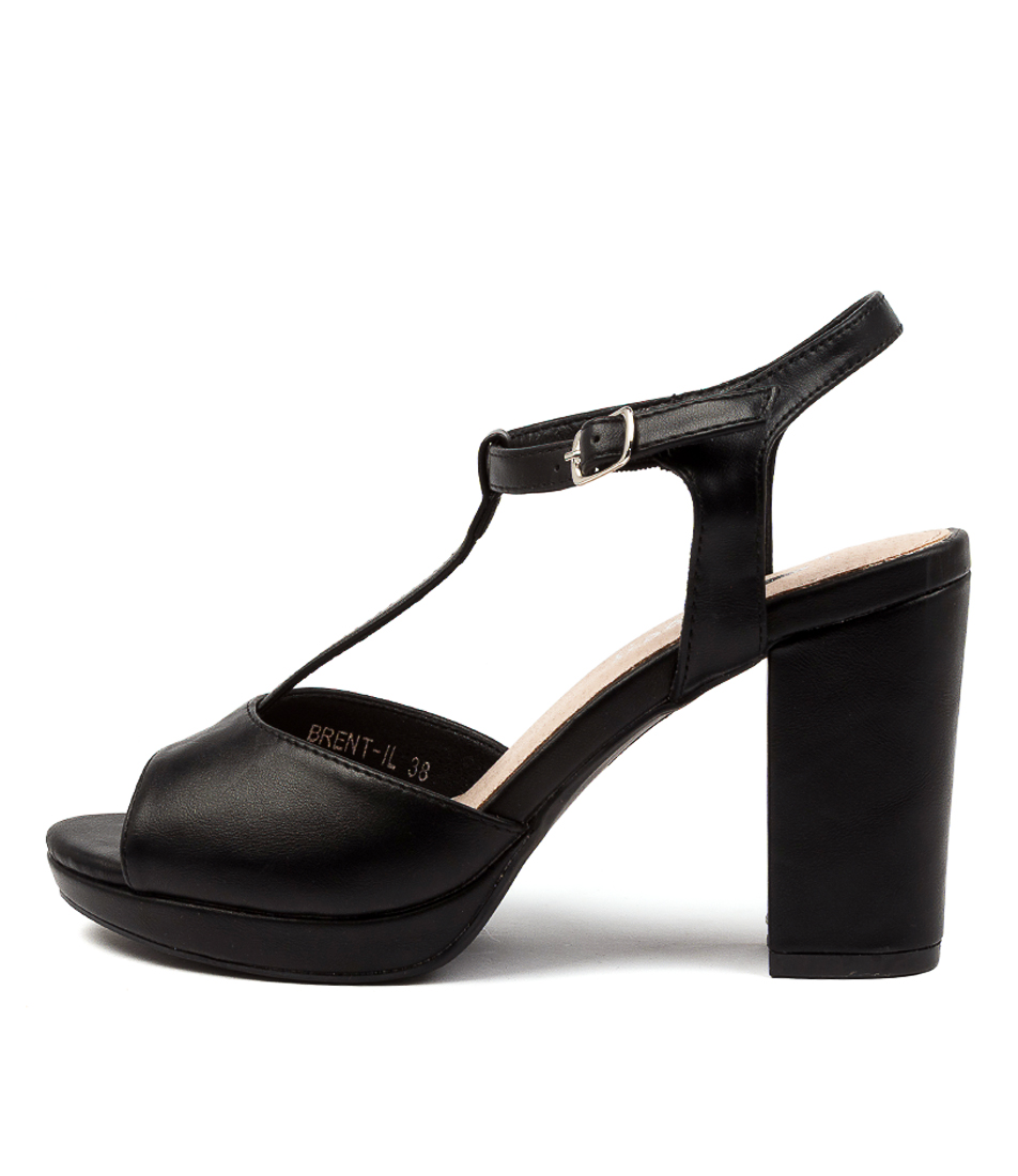 Buy I Love Billy Brent Il Black Heeled Sandals online with free shipping