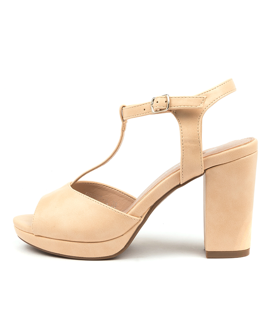 Buy I Love Billy Brent Il Nude Heeled Sandals online with free shipping