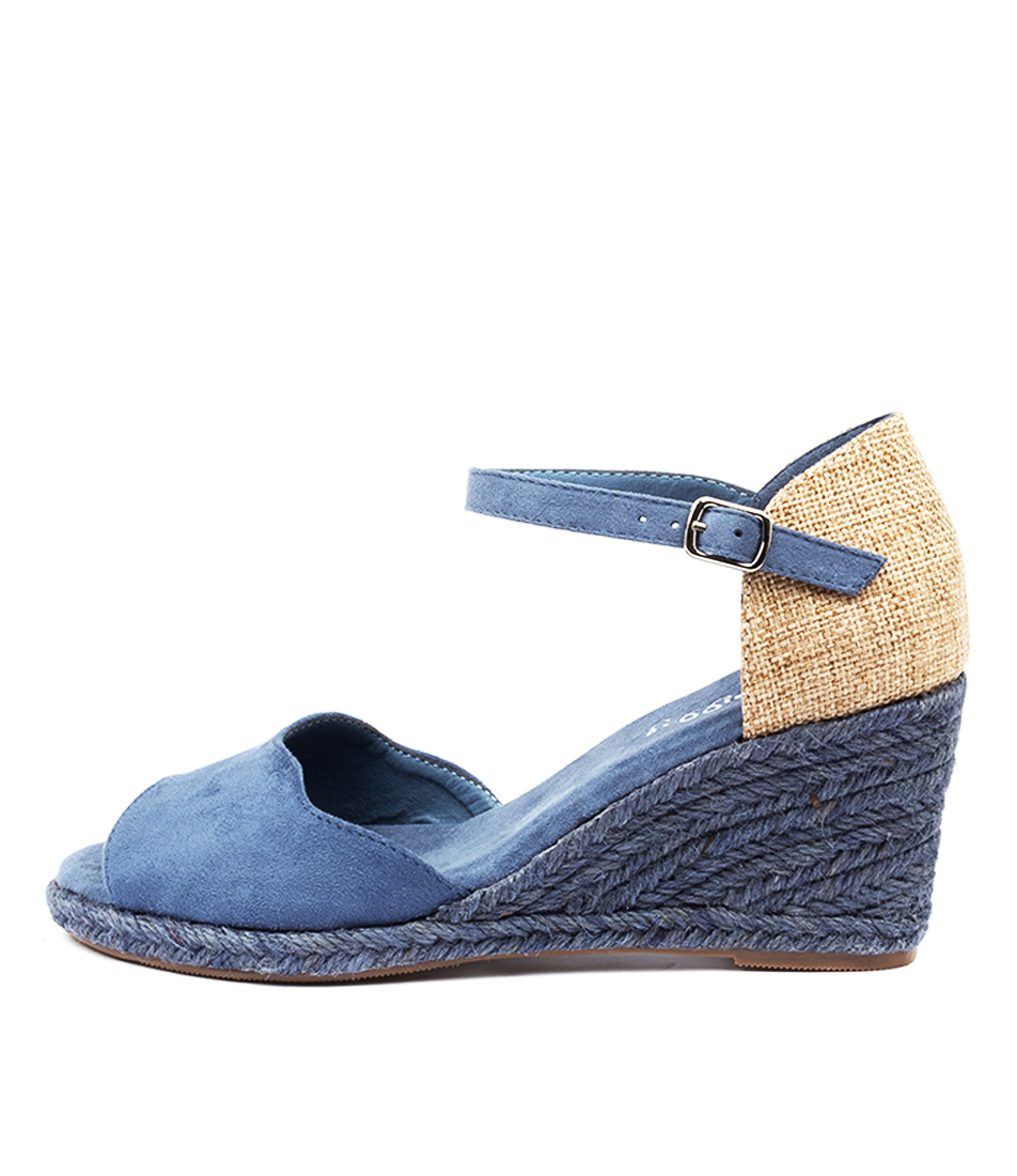 Buy I Love Billy Denver Il Denim Heeled Sandals online with free shipping