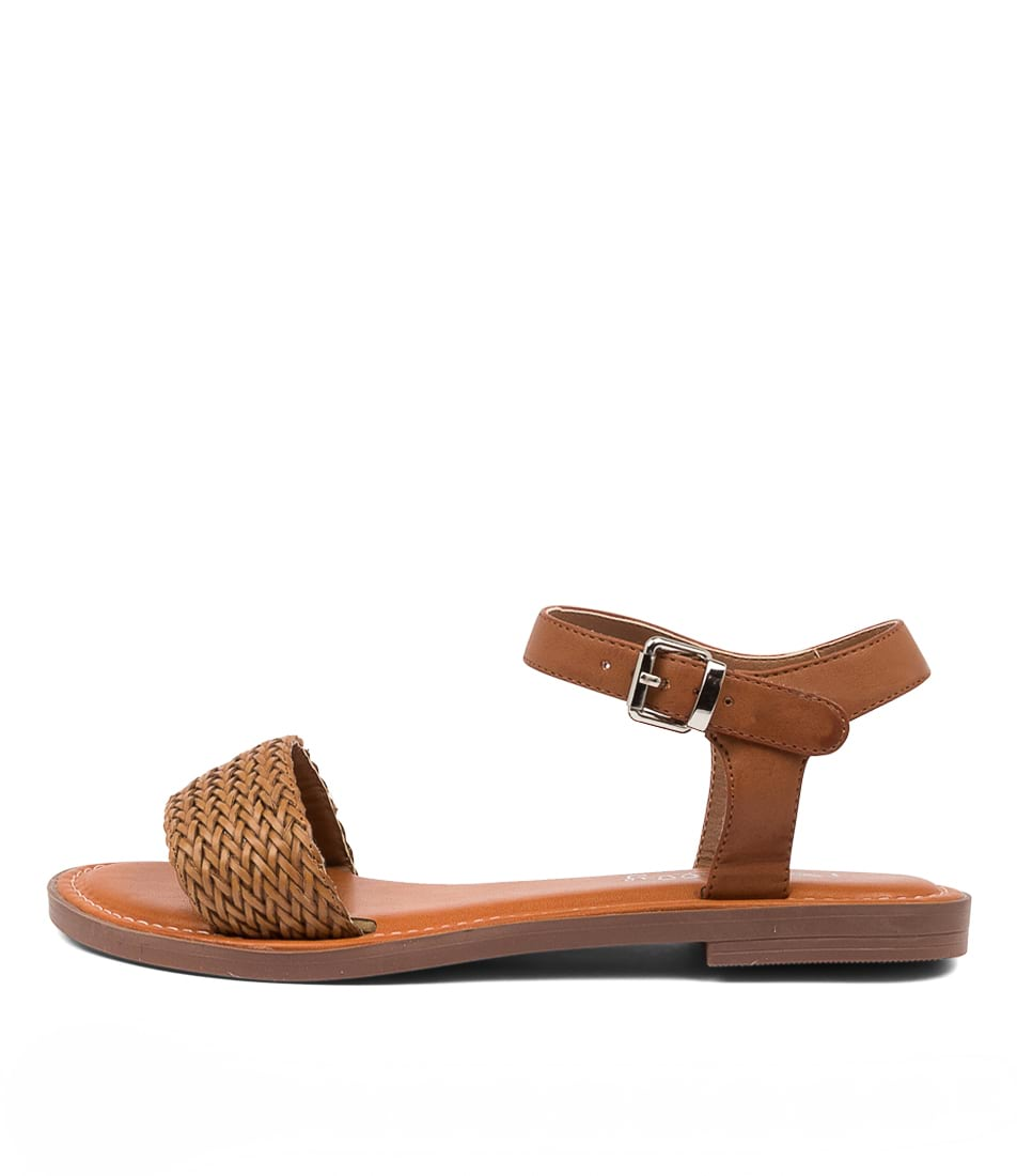 Buy I Love Billy Elizabeth Il Tan Flat Sandals online with free shipping