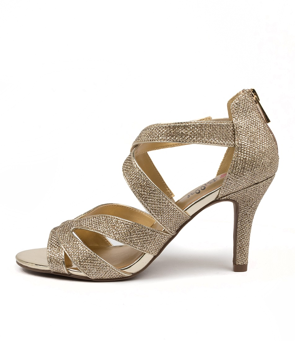 Buy I Love Billy Frenda Il Gold Heeled Sandals online with free shipping