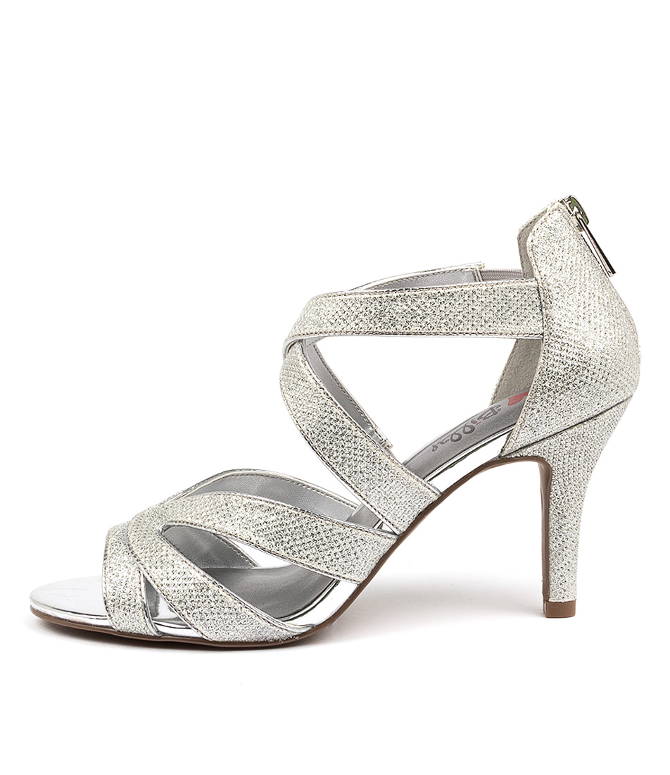 Buy I Love Billy Frenda Il Silver Heeled Sandals online with free shipping