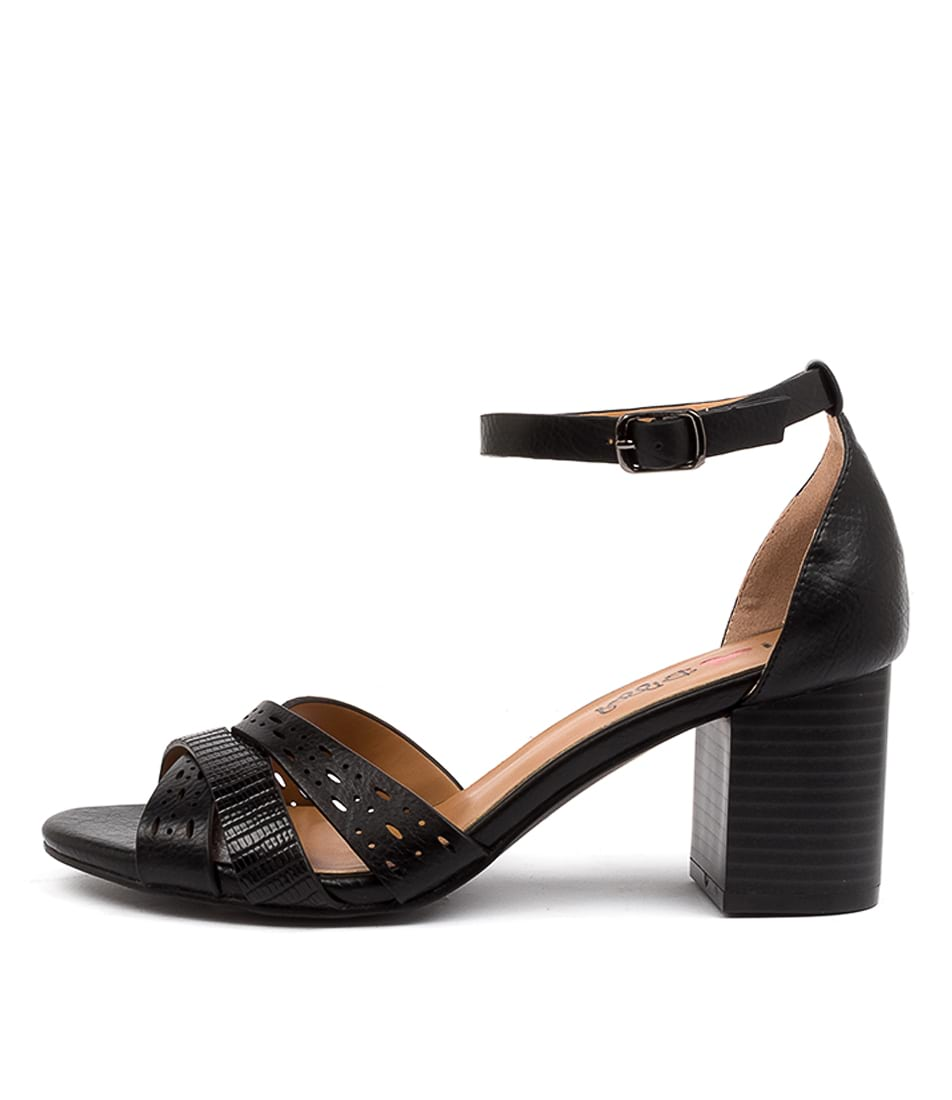 Buy I Love Billy Karrinyup Il Black Heeled Sandals online with free shipping