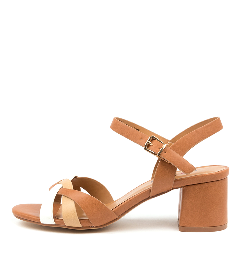 Buy I Love Billy Olema Il Tan Yellow Heeled Sandals online with free shipping
