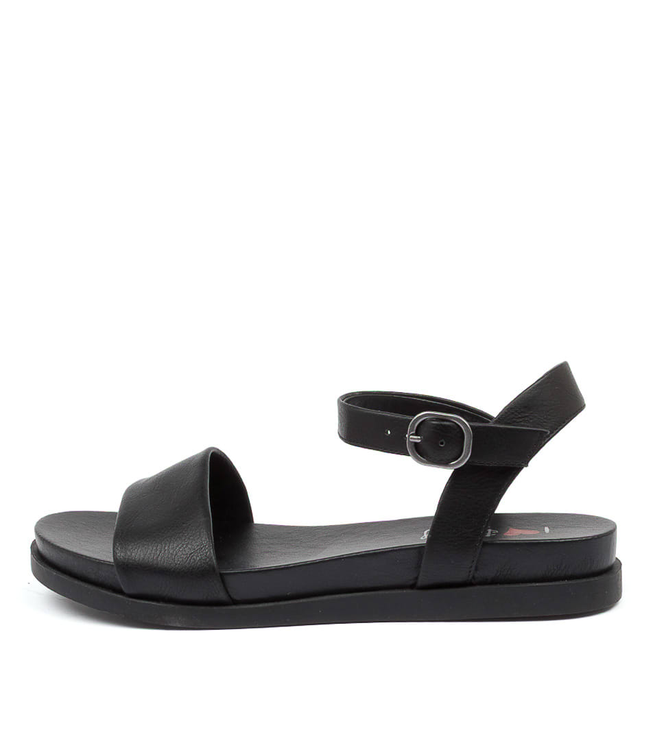 Buy I Love Billy Olissa Il Black Flat Sandals online with free shipping