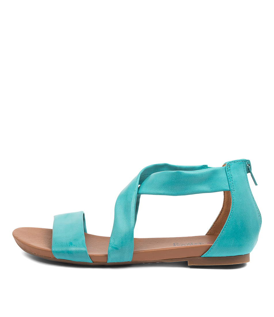 Buy I Love Billy Siantha Il Aqua Flat Sandals online with free shipping