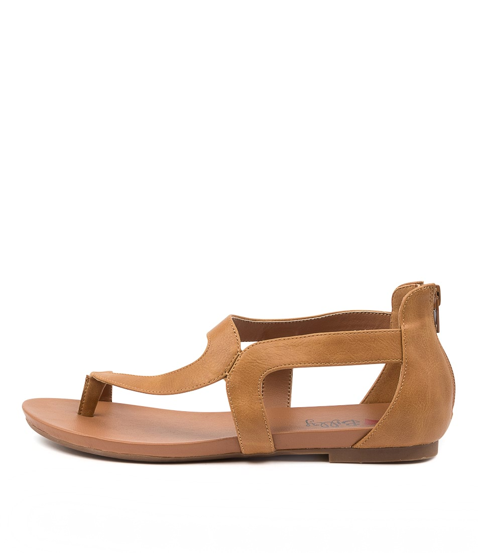 Buy I Love Billy Sandee Il Tan Flat Sandals online with free shipping
