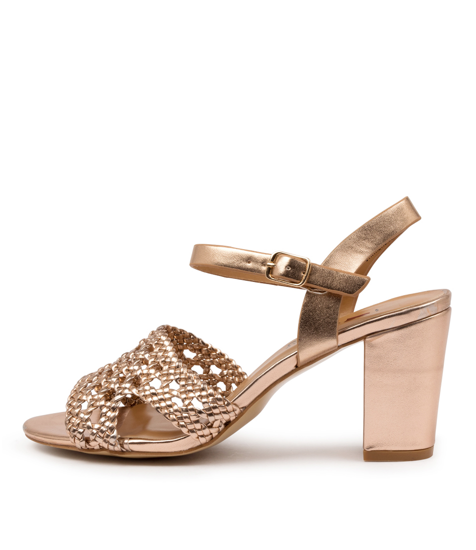 Buy I Love Billy Tongala Il Rose Gold Heeled Sandals online with free shipping