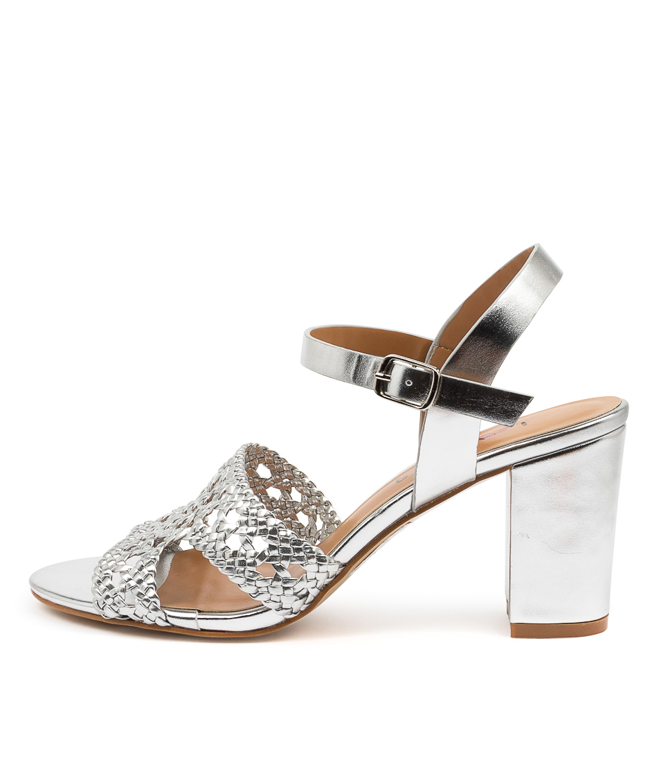 Buy I Love Billy Tongala Il Silver Heeled Sandals online with free shipping