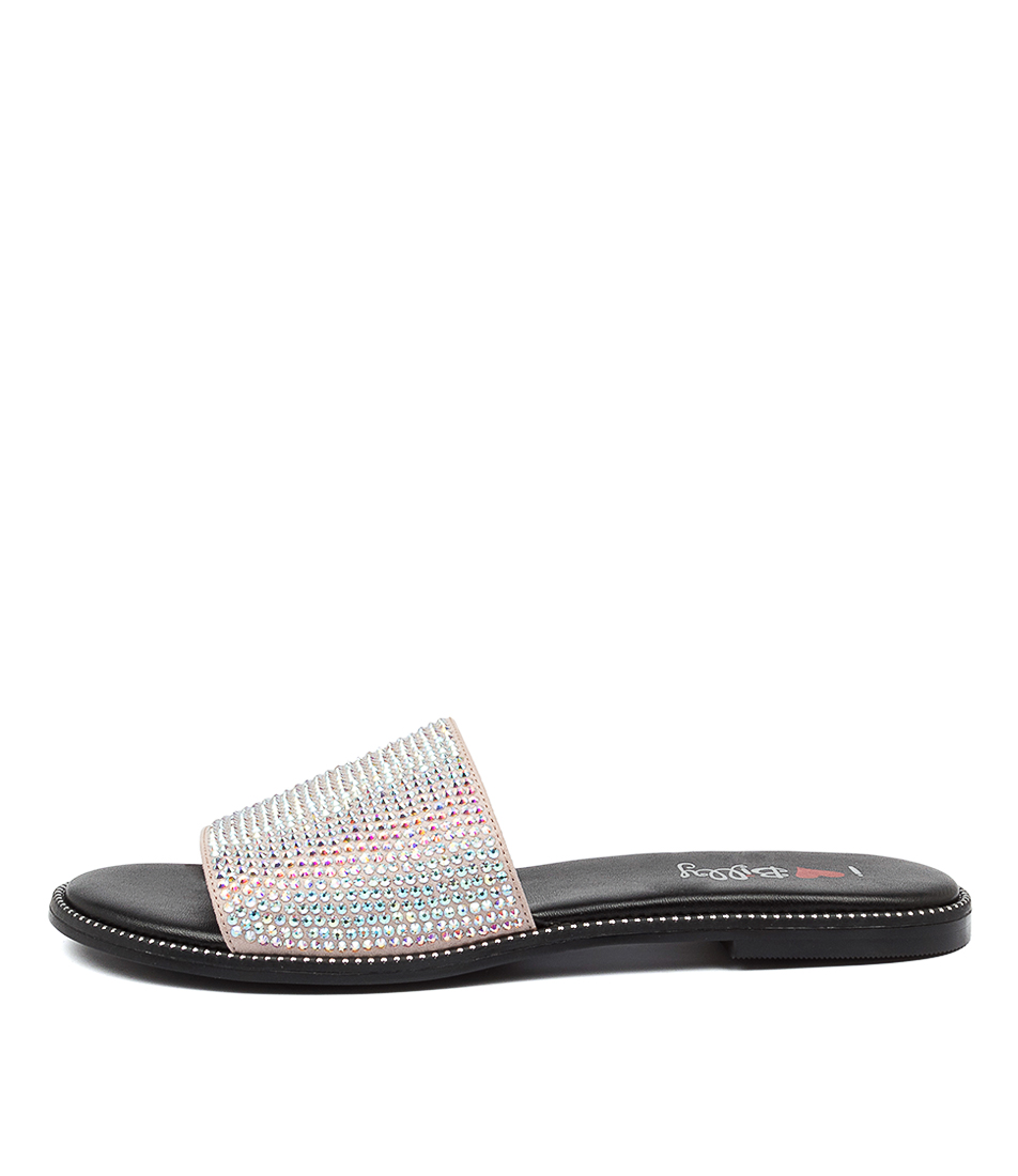 Buy I Love Billy Tinsel Il Iridescent Flat Sandals online with free shipping