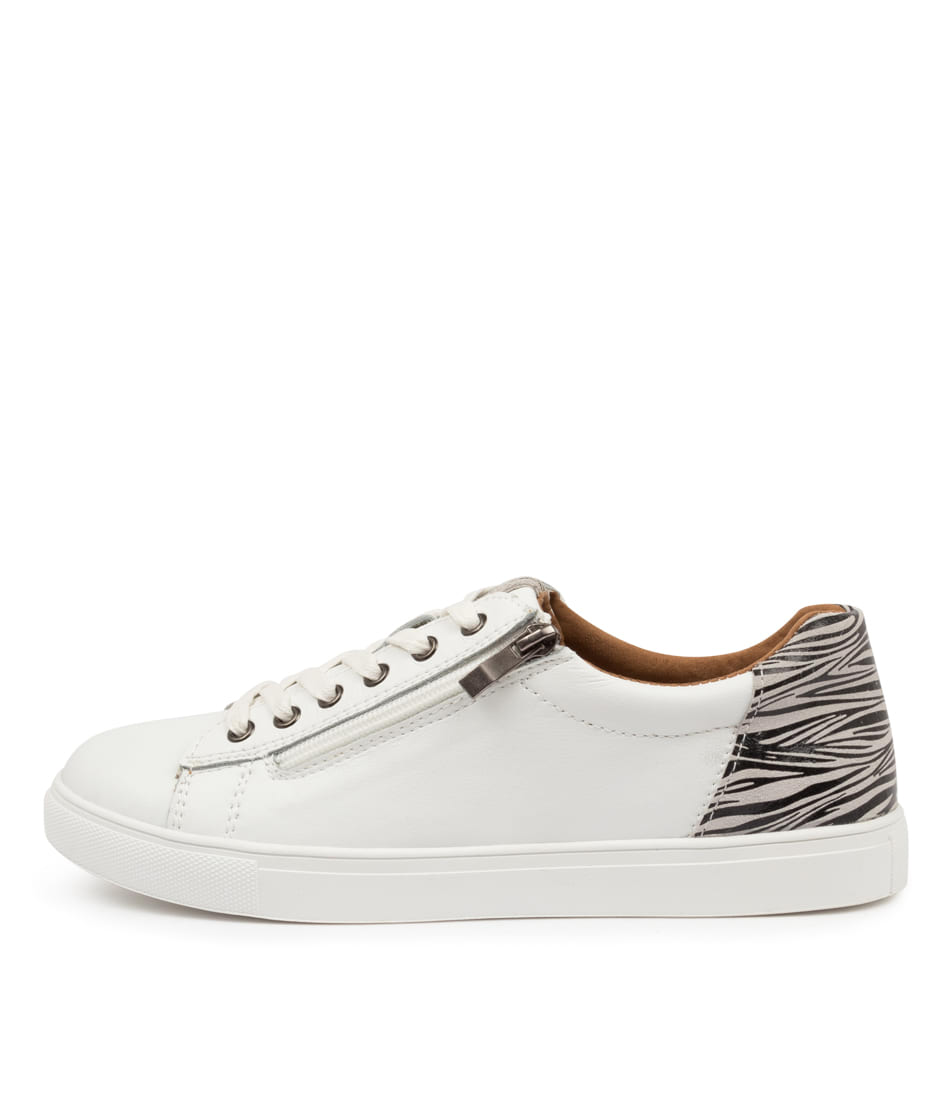Buy I Love Billy Guesse Il White Zebra Sneakers online with free shipping