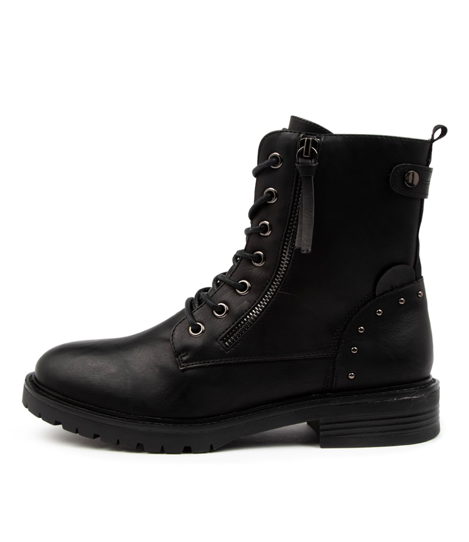 Buy I Love Billy Lem Il Black Ankle Boots online with free shipping