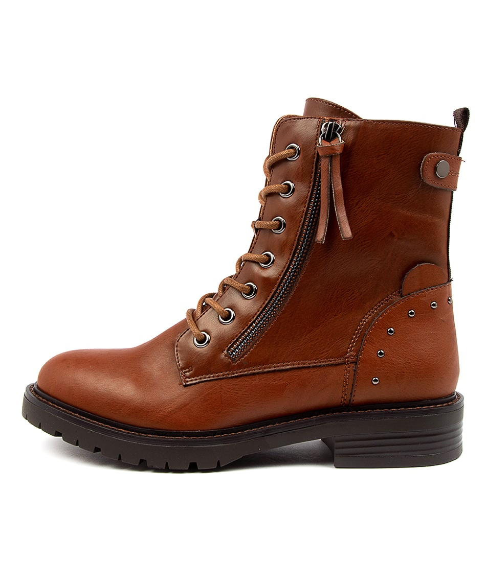 Buy I Love Billy Lem Il Tan Ankle Boots online with free shipping