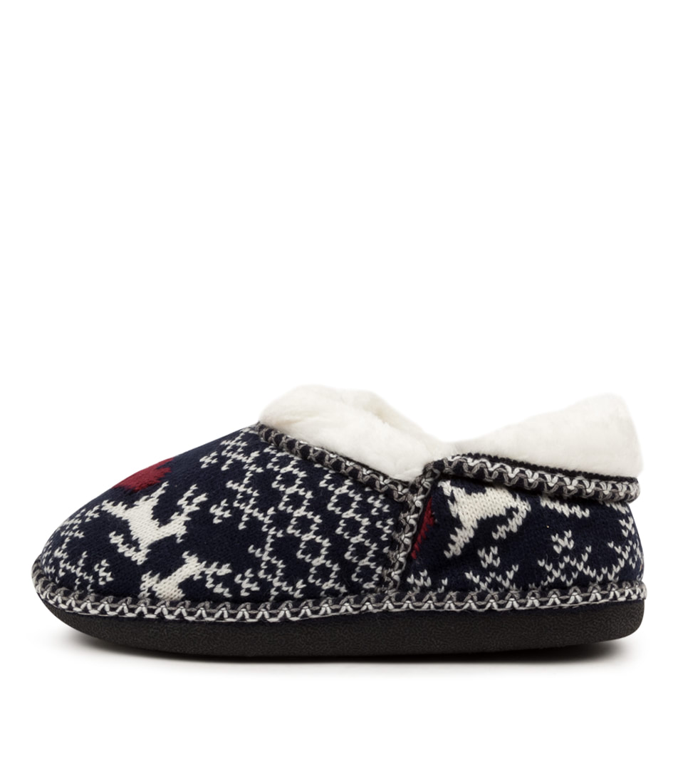 Buy I Love Billy Arctic Il Navy Flats online with free shipping