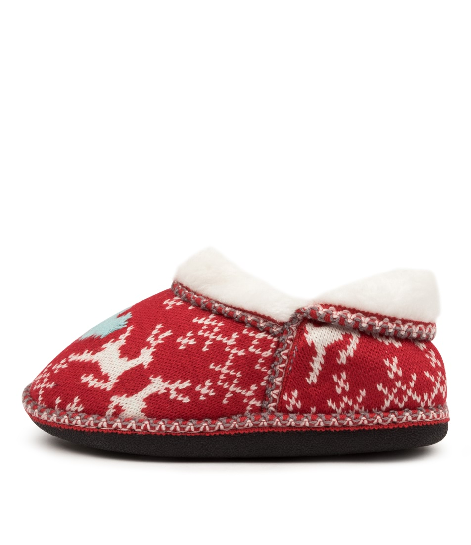 Buy I Love Billy Arctic Il Red Flats online with free shipping