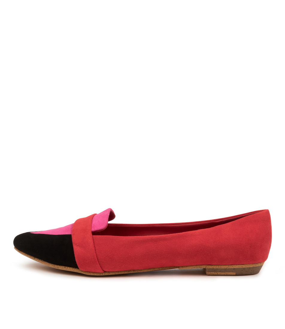 Buy I Love Billy Banita Il Black Pink Multi Flats online with free shipping