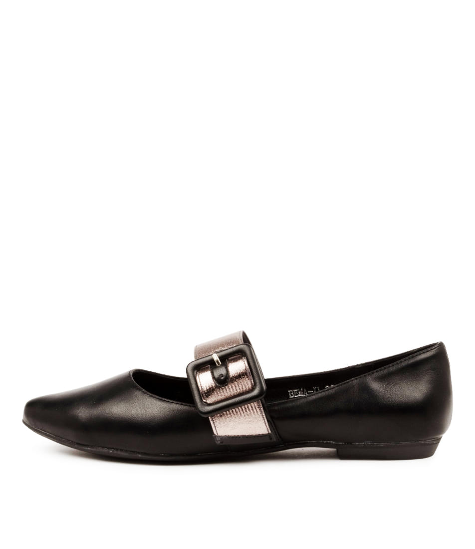 Buy I Love Billy Bema Il Black Pewter Flats online with free shipping