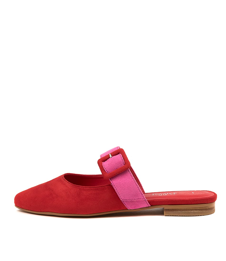 Buy I Love Billy Gwenna Il Red Pink Flats online with free shipping