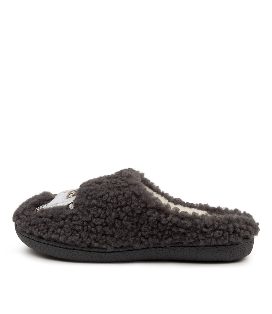 Buy I Love Billy Llama Il Grey Flats online with free shipping