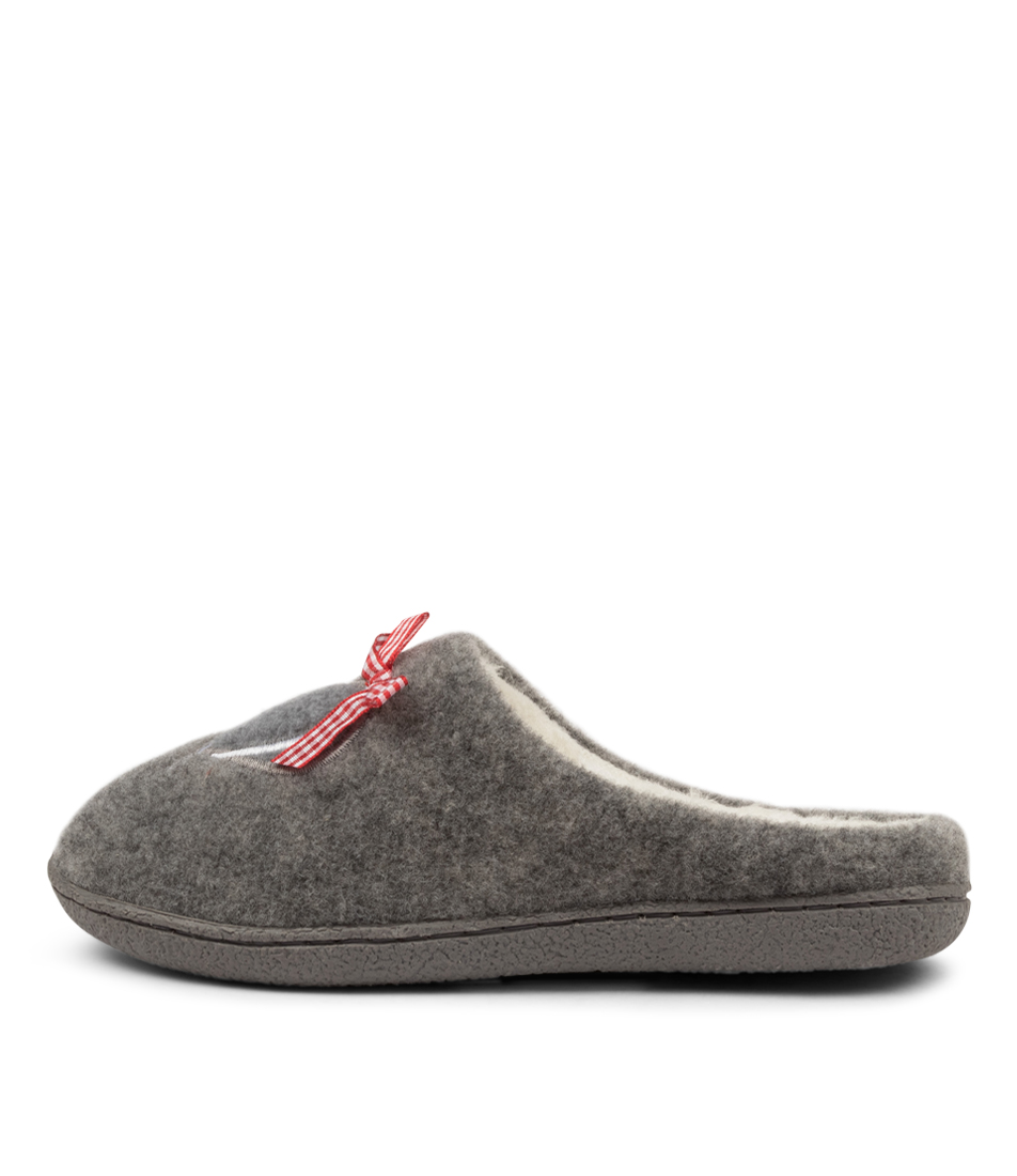 Buy I Love Billy Loving Il Grey Flats online with free shipping