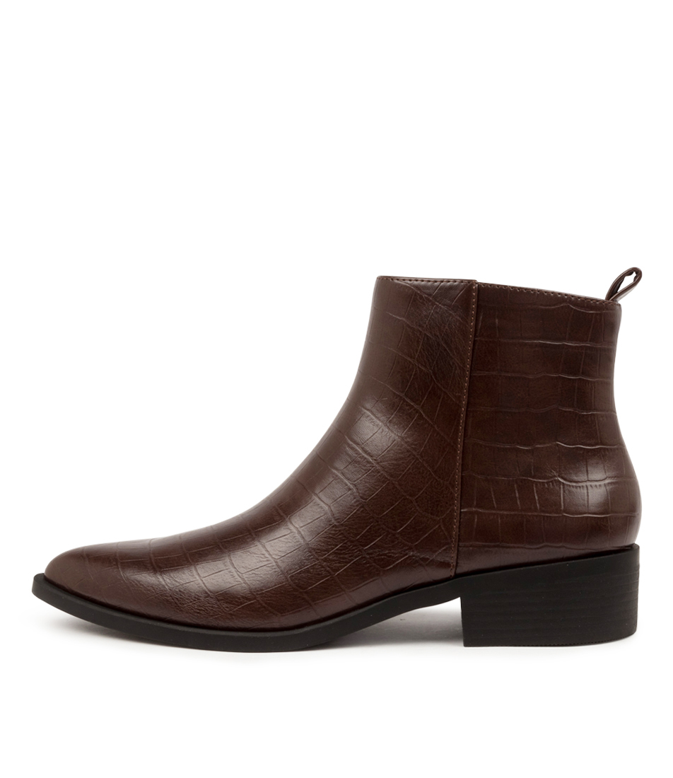 Buy I Love Billy Salla Il Choc Croc Ankle Boots online with free shipping