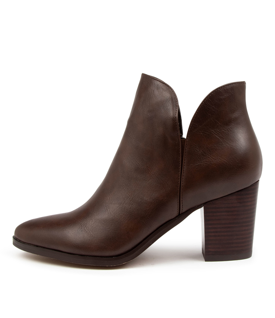 Buy I Love Billy Tramble Il Choc Ankle Boots online with free shipping